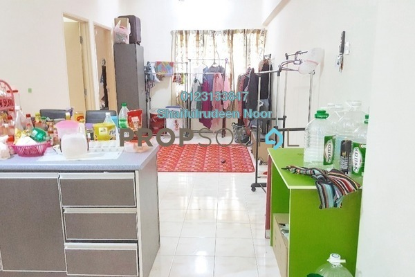 For Rent Serviced Residence at Spring Ville, Ukay Freehold Semi Furnished 3R/2B 1.25k