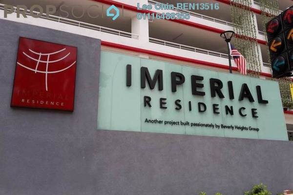 For Sale Condominium at Imperial Residence, Cheras South Freehold Semi Furnished 4R/2B 455k