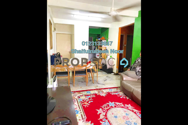 For Sale Apartment at PKNS Seksyen 7 Flat, Shah Alam Leasehold Unfurnished 3R/2B 260k
