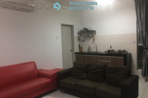 For Rent Condominium at The Domain, Cyberjaya Freehold Fully Furnished 3R/2B 1.3k