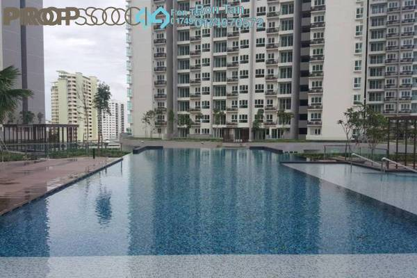 For Rent Condominium at Tropicana Bay Residences, Bayan Indah Freehold Fully Furnished 1R/1B 1.3k