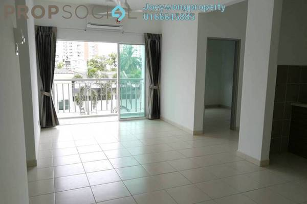 For Rent Condominium at Impian Titanium, Puchong Freehold Semi Furnished 3R/2B 1.2k