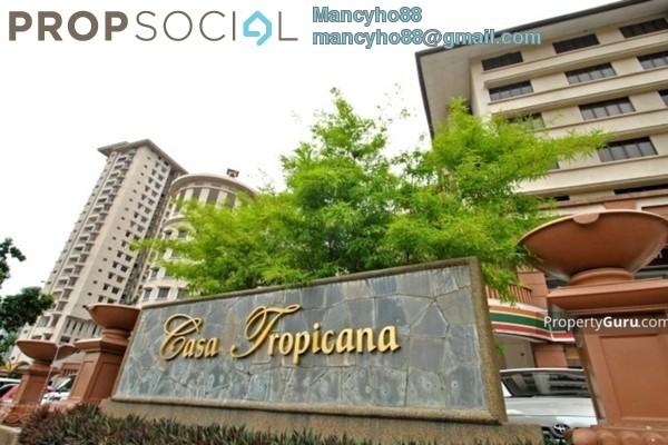 For Sale Condominium at Casa Tropicana, Tropicana Freehold Semi Furnished 2R/2B 620k