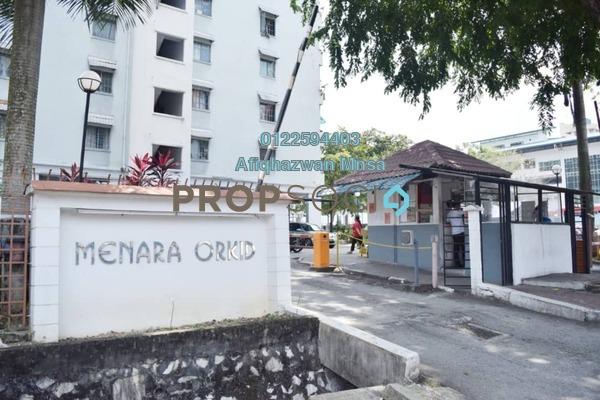 For Sale Apartment at Menara Orkid, Sentul Freehold Semi Furnished 3R/2B 295k