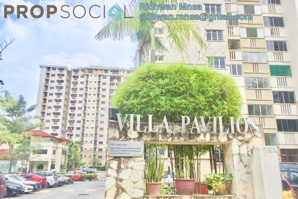 For Sale Condominium at Villa Pavilion, Seri Kembangan Freehold Unfurnished 3R/2B 385k