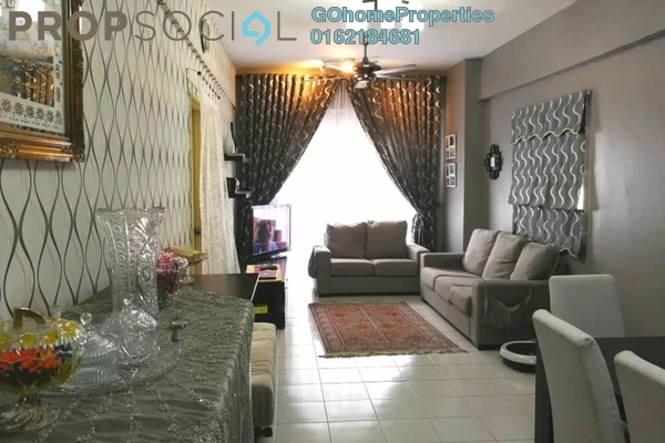 For Sale Condominium at Langat Jaya, Batu 9 Cheras Freehold Fully Furnished 3R/2B 330k