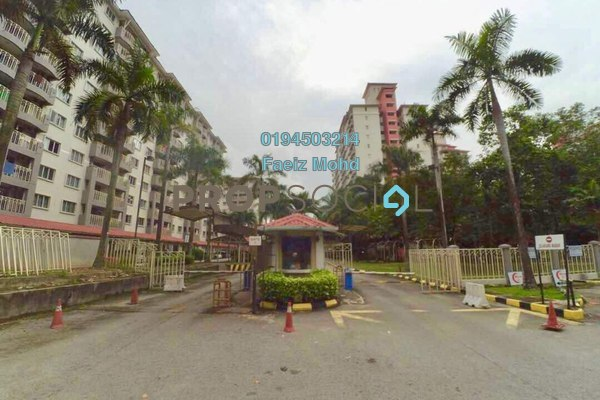 For Sale Apartment at Arena Green, Bukit Jalil Freehold Fully Furnished 3R/2B 310k