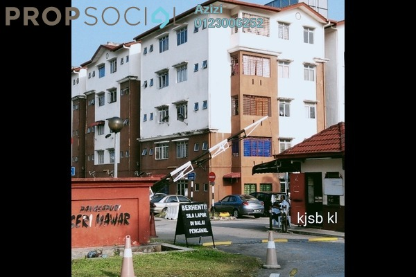 For Sale Apartment at Seri Mawar Apartment, Bandar Seri Putra Freehold Unfurnished 3R/2B 199k