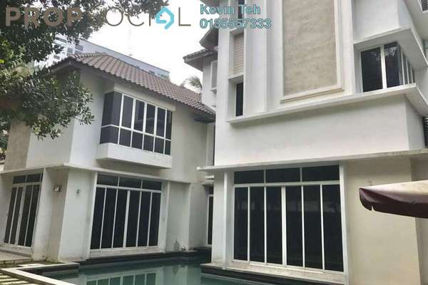 For Sale Bungalow at Flora Murni, Mont Kiara Freehold Semi Furnished 6R/6B 7.5m
