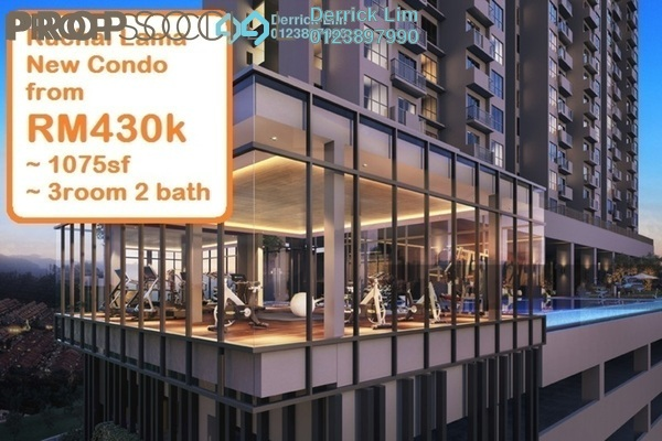 For Sale Condominium at The Hermington, Kuchai Lama Freehold Unfurnished 3R/2B 440k