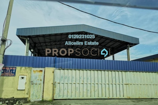 For Sale Factory at Kampung Melayu Subang, Subang Freehold Semi Furnished 0R/4B 4.5m