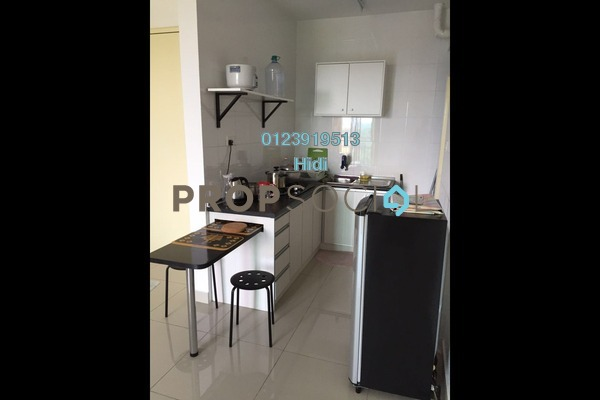 For Rent Serviced Residence at De Centrum Residences, Kajang Freehold Semi Furnished 2R/2B 1.6k