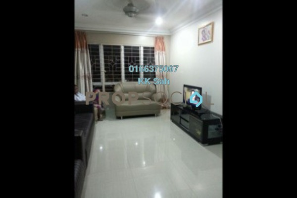 For Sale Apartment at Puteri 1 Apartment, Bandar Damai Perdana Freehold Semi Furnished 3R/2B 270k