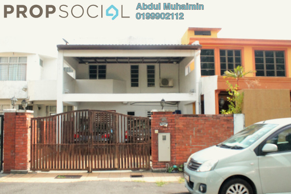 For Sale Terrace at Taman Putra Sulaiman, Ampang Freehold Semi Furnished 4R/3B 750k