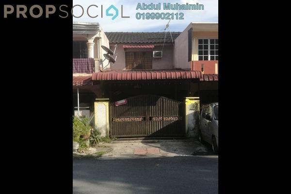 For Sale Terrace at Taman Sri Gombak, Batu Caves Freehold Semi Furnished 2R/2B 360k