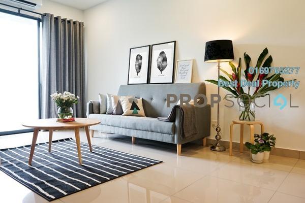 For Rent Condominium at Sutera Pines, Bandar Sungai Long Freehold Fully Furnished 3R/2B 1.8k