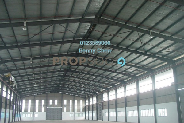 For Rent Factory at Kawasan 12, Port Klang Freehold Unfurnished 0R/0B 80k