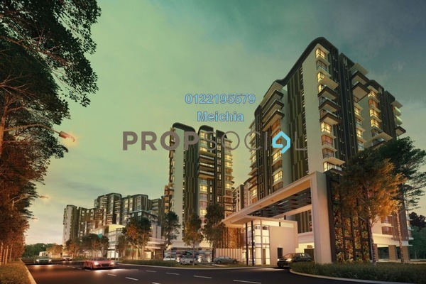 For Sale Condominium at The Potpourri, Ara Damansara Freehold Semi Furnished 3R/3B 1.82m