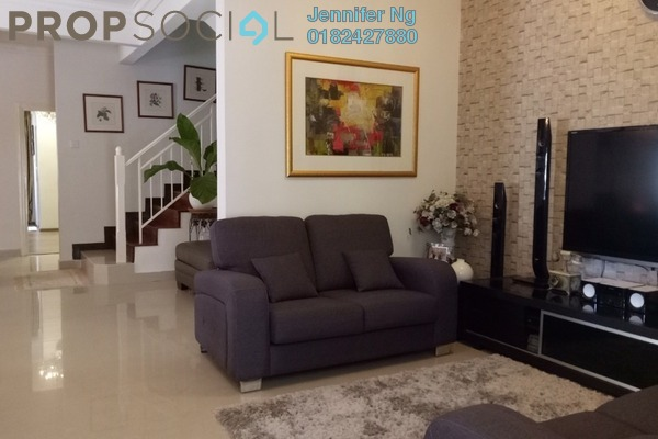 For Sale Terrace at Laman Putra, Putra Heights Freehold Semi Furnished 4R/4B 1.25m