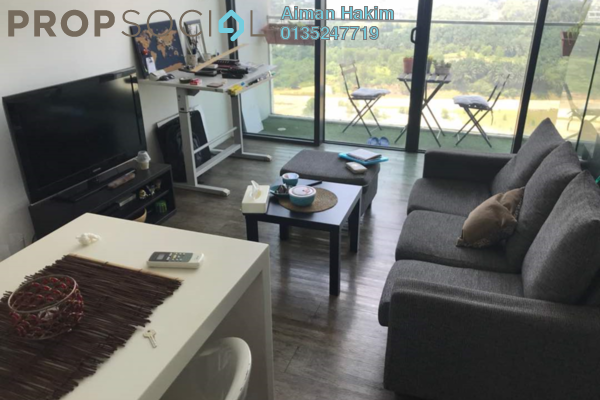 For Rent Duplex at The Place, Cyberjaya Freehold Fully Furnished 1R/1B 1.35k