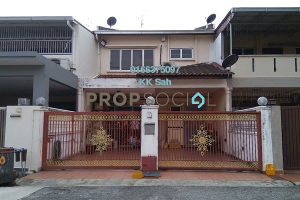 For Sale Terrace at Taman Sentosa, Klang Freehold Semi Furnished 4R/3B 380k