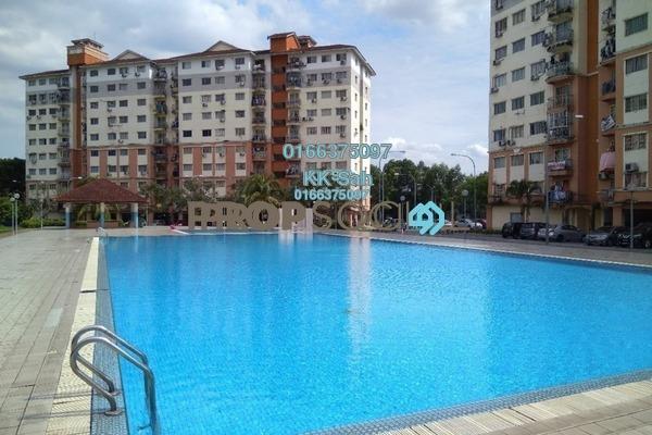 For Sale Condominium at Sri Hijau, Bandar Mahkota Cheras Freehold Semi Furnished 3R/2B 280k