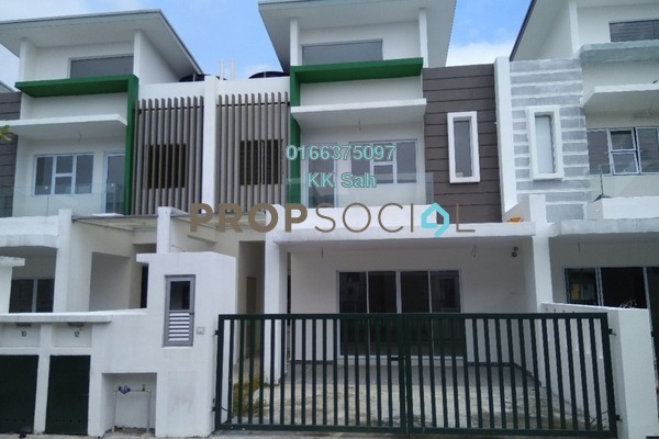 For Sale Superlink at Diamond City, Semenyih Leasehold Unfurnished 4R/4B 578k