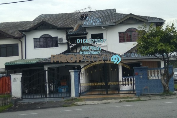 For Sale Link at Taman Len Sen, Cheras Freehold Semi Furnished 4R/3B 508k