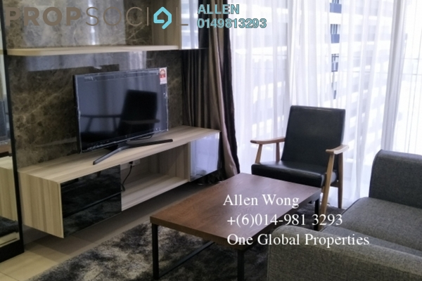 For Rent Condominium at Teega, Puteri Harbour Freehold Fully Furnished 2R/2B 2.7k