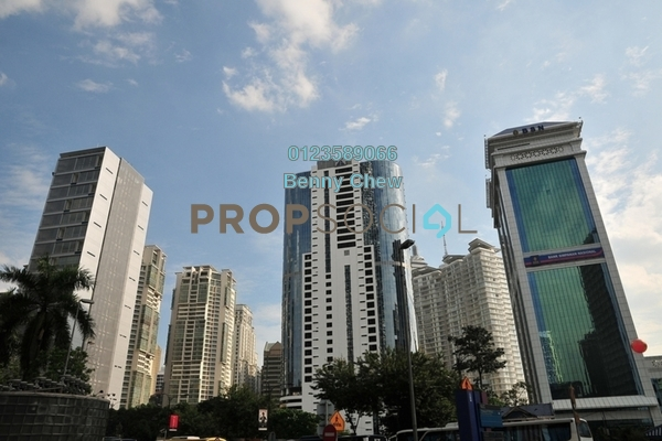For Rent Office at Menara TA One, KLCC Freehold Semi Furnished 0R/0B 11k