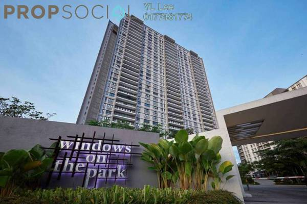For Sale Condominium at Windows On The Park, Bandar Tun Hussein Onn Freehold Semi Furnished 3R/4B 780k