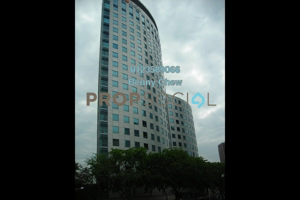 For Rent Office at Menara Uni Asia, Chow Kit Freehold Semi Furnished 0R/0B 30k