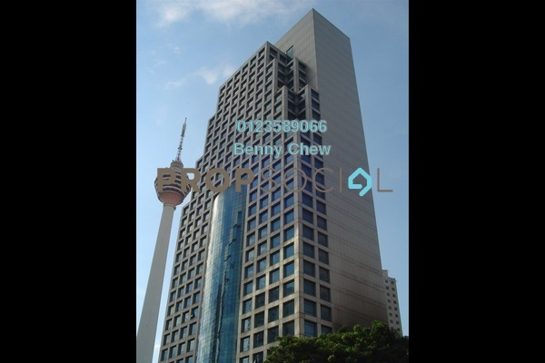 For Rent Office at Menara Weld, Bukit Ceylon Freehold Semi Furnished 0R/0B 10k