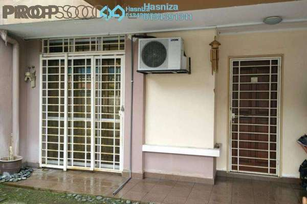 For Sale Terrace at Desira, Bandar Bukit Raja Freehold Semi Furnished 4R/3B 560k