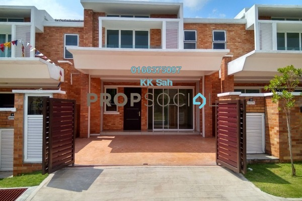 For Sale Superlink at Goodview Heights, Kajang Freehold Semi Furnished 5R/5B 800k