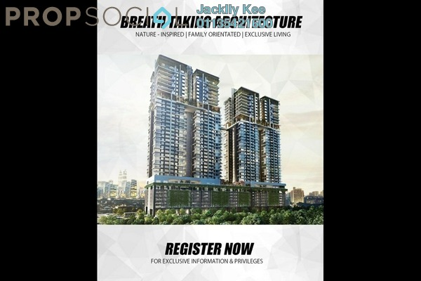 For Sale Condominium at The Address, Taman Desa Leasehold Unfurnished 4R/2B 670k