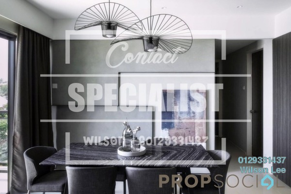 For Rent Condominium at Lakeville Residence, Jalan Ipoh Freehold Semi Furnished 3R/2B 2.3k
