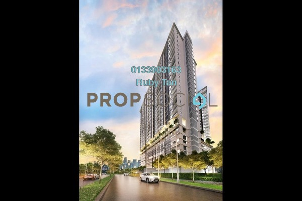 For Sale Serviced Residence at AraTre' Residences, Ara Damansara Freehold Unfurnished 2R/2B 641k
