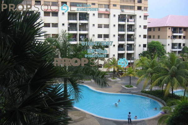 For Sale Apartment at Vista Bayu, Klang Freehold Semi Furnished 3R/2B 270k
