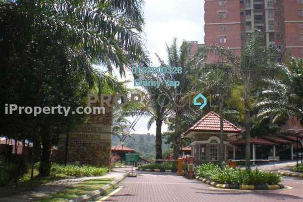 For Rent Condominium at Greenview Residence, Bandar Sungai Long Freehold Semi Furnished 3R/2B 1.4k