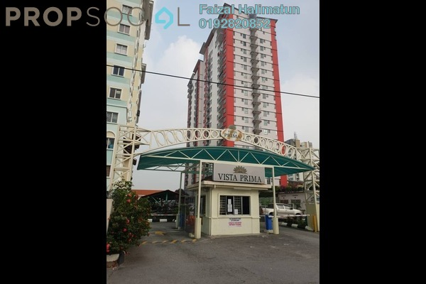 For Sale Apartment at Vista Prima, Puchong Freehold Unfurnished 3R/2B 299k