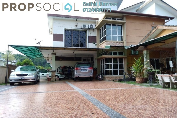 For Sale Semi-Detached at Taman Desa Saujana, Kajang Freehold Semi Furnished 8R/6B 950k
