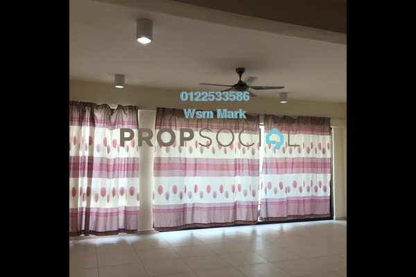 For Rent Condominium at Serin Residency, Cyberjaya Freehold Semi Furnished 3R/2B 1.4k