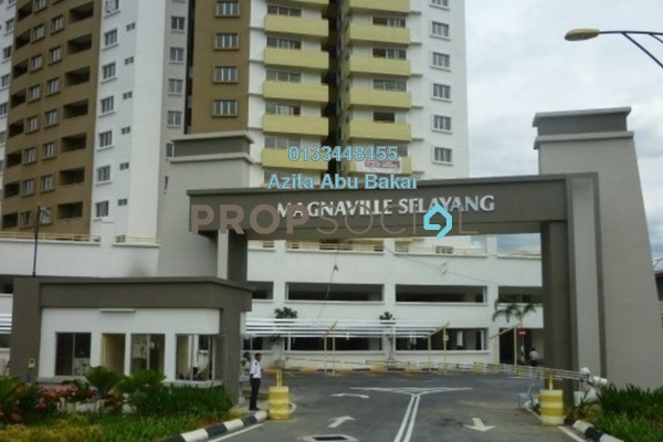 For Rent Condominium at Magna Ville, Selayang Freehold Semi Furnished 3R/2B 1k