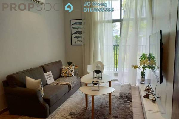 For Sale Apartment at LakeFront Residence, Cyberjaya Freehold Semi Furnished 3R/2B 398k