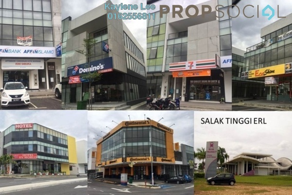 For Sale Shop at Kota Warisan, Sepang Freehold Semi Furnished 1R/1B 400k