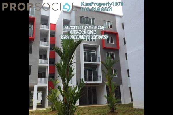 For Rent Apartment at Stutong Heights Apartment 1, Kuching Freehold Unfurnished 2R/2B 1k