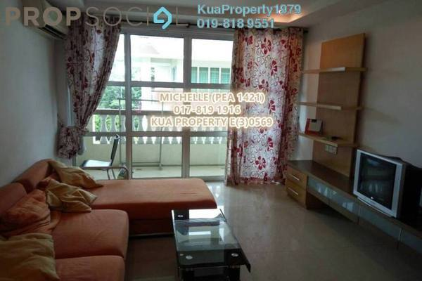 For Rent Apartment at Green Heights, Kuching Freehold Fully Furnished 3R/2B 1.6k