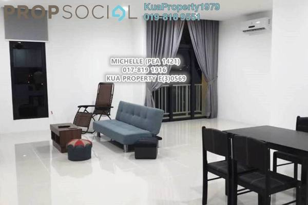 For Rent Condominium at The Cube, Kuching Freehold Semi Furnished 3R/2B 2k