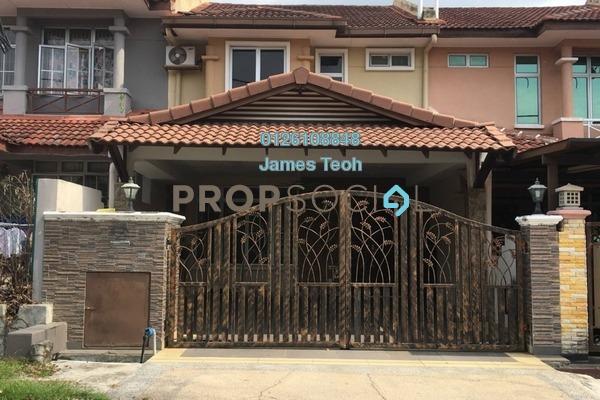 For Sale Terrace at Section 4, Bandar Mahkota Cheras Freehold Semi Furnished 4R/3B 650k